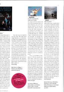 Book Review by Arnd Weseman, TANZ Magazine, 8/2015