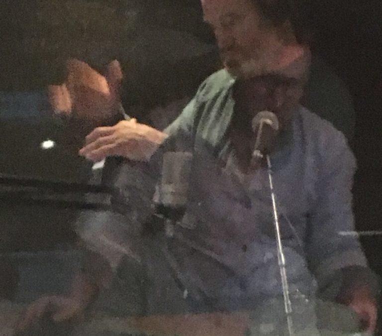 Recording 'Caoineadh Chuaisin' with Rossa O Snodaigh for 'Coosheen's Forgotten Seanchai & Son'